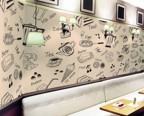 self adhesive vinyl for Indoor Decoration