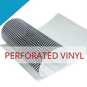 perforated vinyl