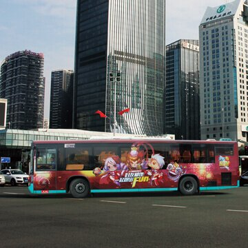 perforated vinyl for bus wrapping